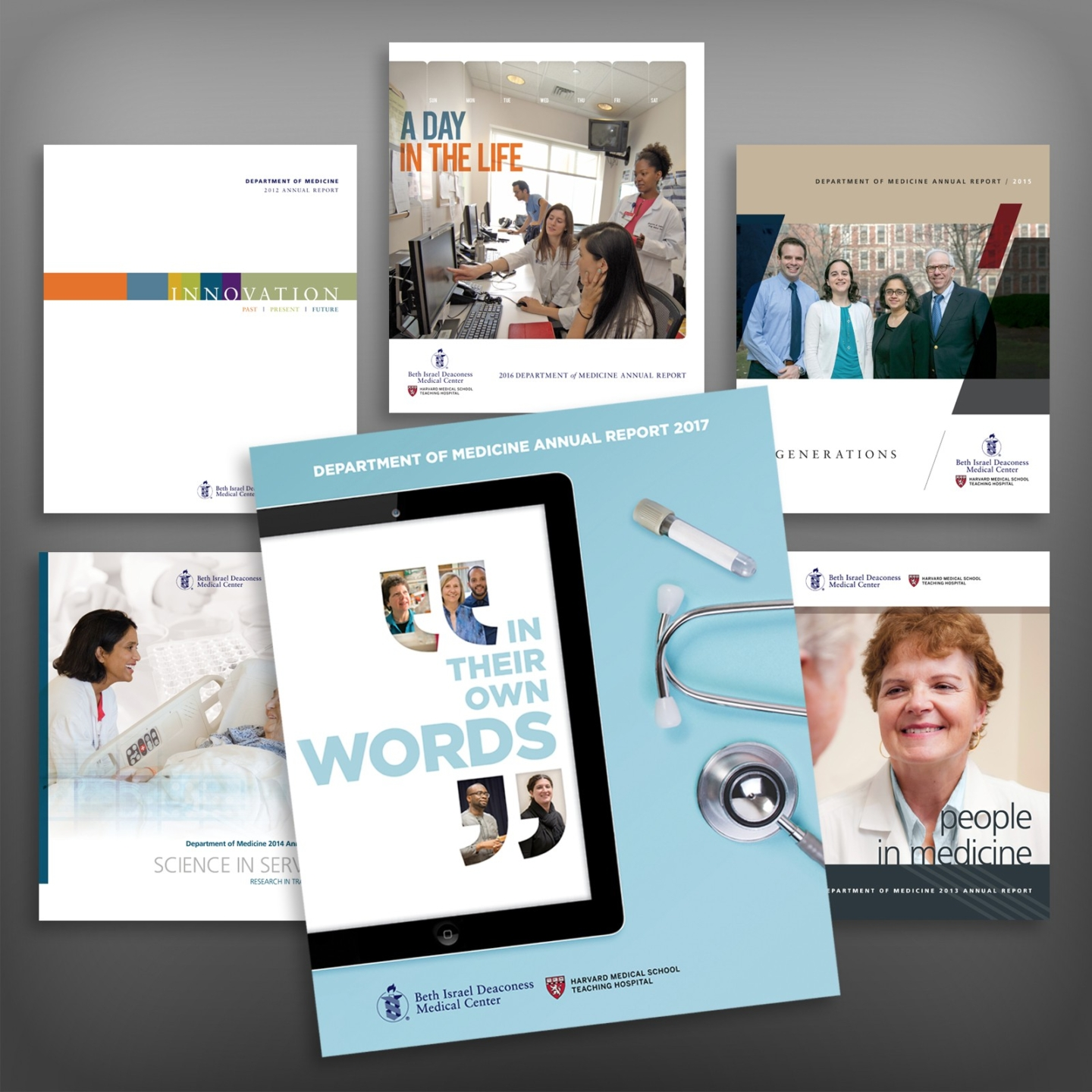 Annual Report For Beth Israel Deaconess Medical Center Korzenowski Design